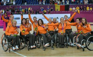 Nederlands dames rolstoelbasketbalteam